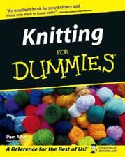 Knitting For Dummies (For Dummies (Lifestyles Paperback) - Paperback - Good