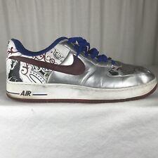 Nike Air Force 1 Mens 18 Premium Lebron James Collection Royale White Basketball