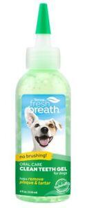 Fresh Breath by TropiClean-Brushing Dental & Oral Care Gel for Dogs-2 fl oz