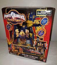 Power Rangers Mystic Force Deluxe SOLAR STREAK Megazord New Lights & Sounds 2006