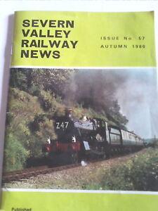 Severn Valley Railway News Issue 57 Autumn 1980        (C1)