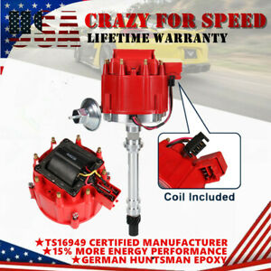 Racing HEI Distributor w/ 65K Coil For Chevrolet/GMC G30 C2500 SBC 350 V8 59107C