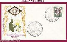 W541 VATICANO FDC ROMA CONGRESSO EUCARISTICO NAZIONALE PESCARA 1977