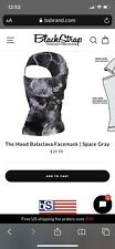 BlackStrap Adult The Hood Balaclava Facemask Space Gray