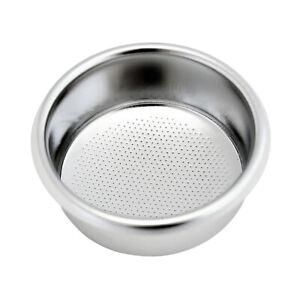 Filtre poreux en acier inoxydable durable réutilisable pour cafetière expresso