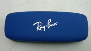 Ray-Ban Red Blue Slim Hard Clamshell Gatto glasses Case(C2)