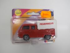 Siku 1347 VW Pritschenwagen T2 Bus Volkswagen Feuerwehr original im Blister