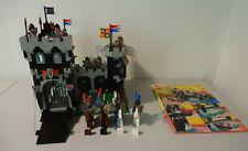 ( GO1 ) LEGO 6086 Black Knight's Castle RITTERBURG MIT BA 100% KOMPLETT