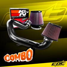 03-04 Toyota Corolla 1.8L 4cyl Black Cold Air Intake + K&N Air Filter