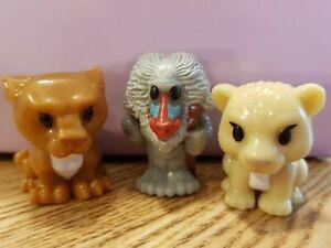 Woolworths Woolies Ooshies Disney Lion King Rafiki & Cub Nala & Sarabi Ooshie