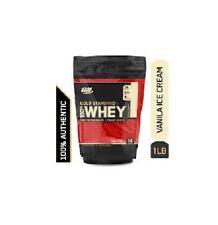 Optimum Nutrition Gold Standard 100% Whey Protein Powder Vanilla Ice Cream 1lb