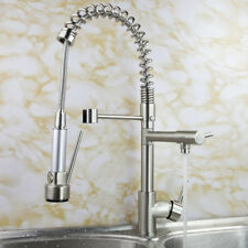 Kitchen Sink Faucet Pull Down Brushed Nickel Kitchen Spray Faucet, KPF005BN
