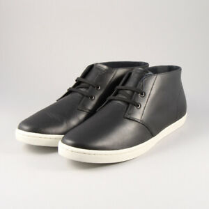 Fred Perry Byron Mid Leather B9081 - Black 102