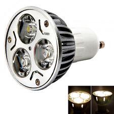 10X GU10 3W 85-265V Pure White 6000K LED Lamp Spot Light Bulb Energy Saving