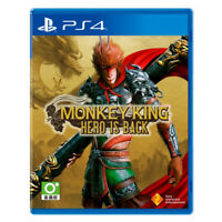 Monkey King Hero is Back PlayStation PS4 2019 English Chinese Factory Sealed