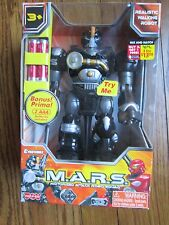 "Cybotronix M.A.R.S. 7"" Tall Motorized Attack Walking Robot Squad XSS-New in Box"