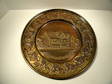 Shakespear's Birthplace Brass Wall Plate
