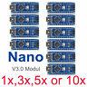 Arduino Nano V3.0 Kompatibel ATmega328P 5V 16MHz Board CH340 USB Chip