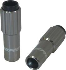 Jagwire Sport 4mm Mini Inline Cable Tension Adjusters Pair, Titanium
