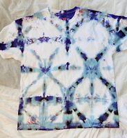hanes mens t shirts Tie Dyed, Shibori Style Die
