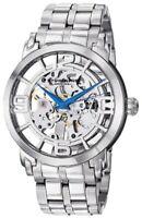 Stührling Winchester 44 Elite Analog Self Wind Silver Stainless Steel Watch