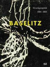 Libro especializado Georg Baselitz, presión gráfico 1964-1983, amplia publicación, embalaje original