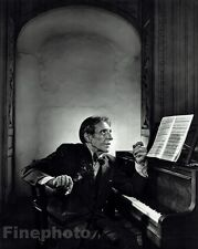 1954 Vintage 16x20 ALFRED CORTOT Piano Music Composer Photo Art By YOUSUF KARSH