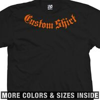 Custom Addiction T-Shirt - Personalized w/ Your Text MMA - More Sizes & Colors
