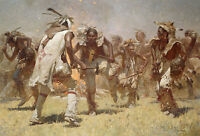 """War Dance"" Z. S. Liang Limited Edition Fine Art Giclee Canvas"