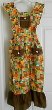 Beco Originals Fall Autumn Pinafore Girls Large