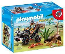 Playmobil Wild Life 6939. Explorador con Quad. A partir de 4 años