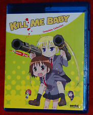Kill Me Baby Complete Collection (Blu-ray, 2014, 2-Disc Set) SENTAI ANIME