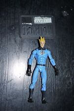 Marvel Universe 2009 HUMAN TORCH LIGHT BLUE COSTUME SERIES 1 #011 FIGURE