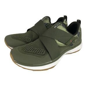 TIEM Slipstream Cycling Sneaker Green Camo Size Women's US 10 Shoes