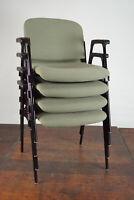 70er Vintage Armlehnstuhl Retro Esszimmer Stuhl Sessel Schreibtisch Stapelstuhl