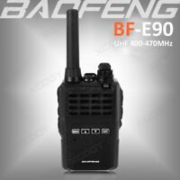 2018 BaoFeng E90 UHF 400-470MHz 5W Walkie Talkie Two-way Ham Radio Long range