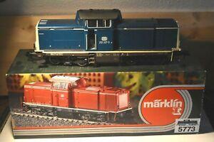 Märklin 1   5773   Diesellok BR 212 227-3 d.DB, blau, OVP  .