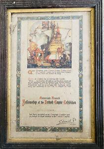 Fellowship Of The British Empire Exhibition