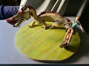 Scène Atlas Dragon Tomb Raider Lara Croft