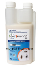 Temprid Cockroach Ants Spiders Bedbugs Fleas Wasps Clothes Moths Pest Control 1L