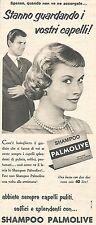 W8681 Shampoo PALMOLIVE  - Pubblicità del 1958 - Vintage advertising