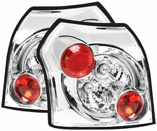 Toyota Corolla (2001-2008) Chrome Clear Rear Back Tail Lexus Lamp Lights - Pair