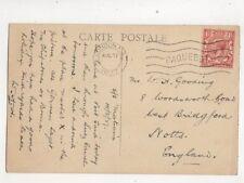 London FS Paquebot Postmark 27 Aug 1927 442b