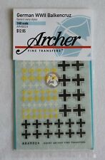 Archer 1/48 Balkenkreuz (Iron Cross) Mix #2 for Early German Armor WWII AR49024