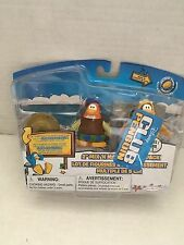"DISNEY CLUB PENGUIN 2"" MIX 'N MATCH SERIES 3 -12th FISH COSTUME AND BARD BARDE"