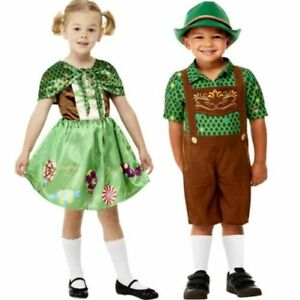 Hansel & Gretel Costume Toddlers Childrens World Book Day Fancy Dress Outfit