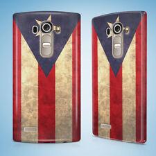 PUERTO RICO COUNTRY FLAG  HARD CASE FOR LG G2 G3 G4 G5 G6 MINI S G4c