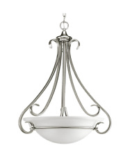 Progress Lighting # P3847-09 Torino 3 Light Brushed Nickel Foyer Chandelier