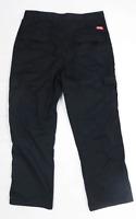 Lee Cooper Mens Black Trousers Size W34/L27