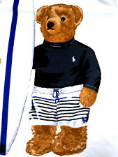 Polo Ralph Lauren Bear Beach Towel Nwt Boy